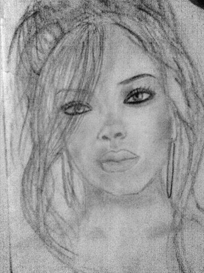 Rihanna by MilENA
